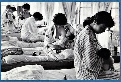 original Marc Riboud Magnum large vintage photo girls lactating baby Japan 1958
