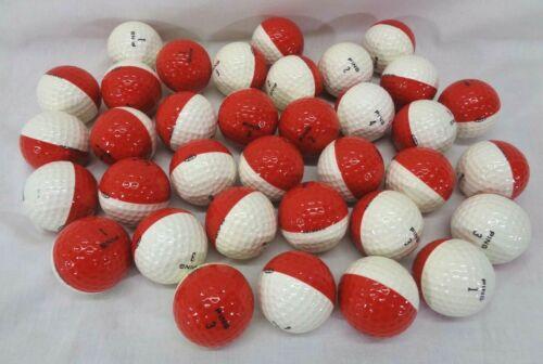 Vintage Ping Eye Golf Ball White & Red - RARE - Karsten - QTY - Pokeball Pokemon