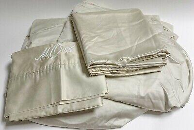 Ralph Lauren Polo CALIFORNIA KING SHEETS Sateen Cotton Sheet Pillowcase Set cal