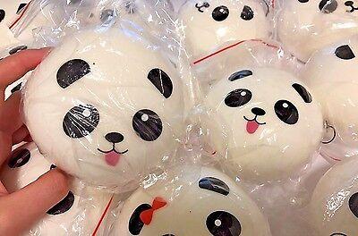 10cm Jumbo Panda Bun Squishy SLOW RISING 1 Pc.