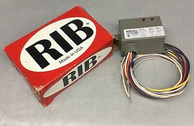 Functional Devices Ribu2c Enclosed Relay 10 Amp Spdt 10-30 Vacdc120 Vac