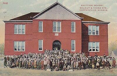 Coffeyville  Ks   Whittier School  Walnut   Third Sts