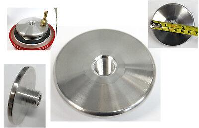 12-28 To 34-16 X 2.5 Dia - Threaded Oil Filter Adapter - Aluminum - Free Ship