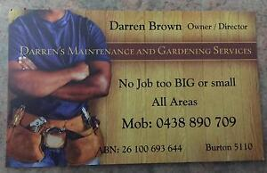 General Maintenance and Handyman Services Burton Salisbury Area Preview