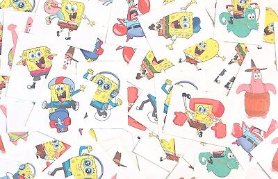 Spongebob Tattoos (Spongebob Temporary Tattoos Made in USA (72 Per)