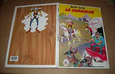 LUCKY LUKE LA CARAVANE N°24 CARTONNE MORRIS