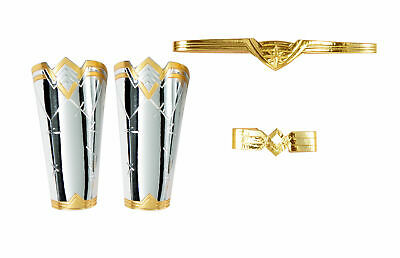 Wonder Woman Accessory Kit Tiara Gauntlets Womens Adult - Wonder Woman Kostüme Kit