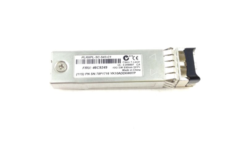 Plrxpl-sc-s43-c1 Ibm 10gb Sw 850nm Sfp+ Transceiver