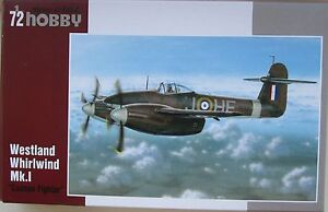 Special Hobby 1/72 SH72197 Westland Whirlwind Mk I 'Cannon Fighter'