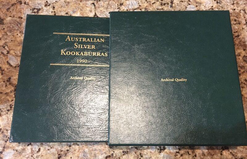 Australian Kookaburra Silver Coin Set 1990-2018