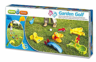 Garten Golf Set Minigolf Gartengolf Mini Golf Spielzeug Gartenspiel Golfschläger
