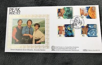 Benham 'Peak Practice' Limited Edition First Day Cover Stamps 1994