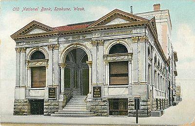 The Old National Bank  Spokane Wa 1909