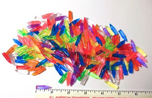 "Lite Brite Pegs 7/8"" - 8 Colors - LOT OF 200"
