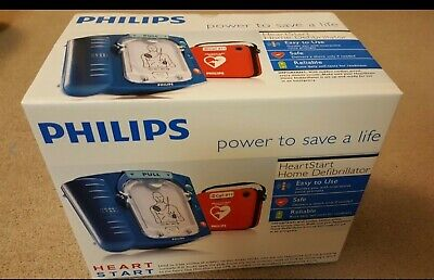 New Factory Sealed - Philips Heartstart Home Aed Defibrillator Red Case M5068a