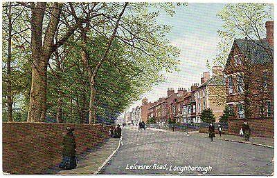 P.C Animated Leicester Road Loughborough Leicestershire Pub Hartmann P U 1910