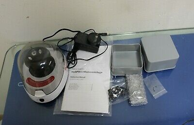 Thermo Scientific Mini Centrifuge Myspin 6 With Manual 6 Adapter Snapspin Rotor