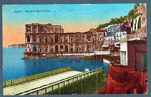 NAPOLI-CARTOLINA-PALAZZO-DONN-039-ANNA-FP-VG-1929