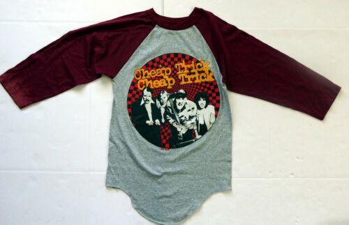 Vintage CHEAP TRICK Rockford Chicago 1981 Tour Jersey Raglan Concert T-Shirt