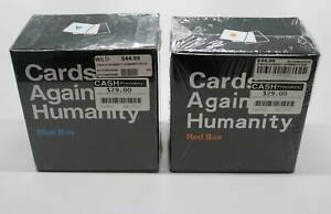 Cards Against Humanity - Red & Blue Expansion Decks, Brand New Nerang Gold Coast West Preview