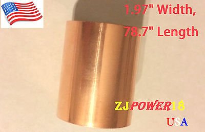 5cm X 2 Meter Double Side Conductive Copper Foil Emi Shield Tape Adhesive