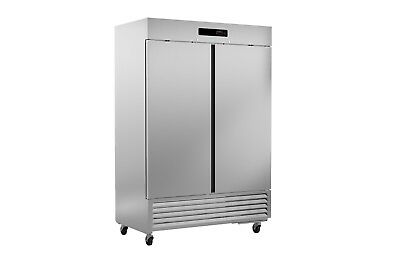 Ultra Cool 2 Door Reach In Freezer Cooler All Stainless 23 Yrs Warranty