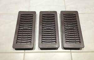 FLOOR / WALL VENT REGISTERS - 3 for $10!