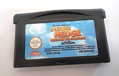OVER THE HEDGE - BEESTEN BIJ DE BUREN voor Game Boy Advance GBA