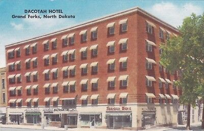 GRAND FORKS, North Dakota, 20-30s; Dacotah Hotel for sale  Shipping to Canada