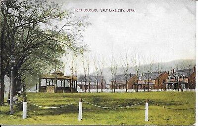 Fort Douglas Salt Lake City Ut Utah Handsome Vintage Postcard Unused