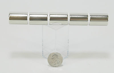 "Metal Detector Minelab Whites 5 lot 1"" X 3/4"" Large Rare Earth Magnet Neodymium"