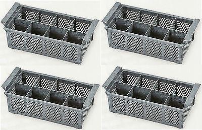 4 x Spülmaschinenkorb, Besteckkorb, Spülkorb für HOBART, MEIKO, WINTERHALTER