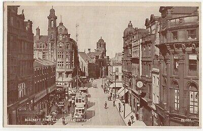 Newcastle on Tyne,  Blackett Street,  Northumberland  -  Posted 1944  -  1215