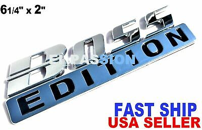 BOSS EDITION Chrome Universal Car Logo CUSTOM EMBLEM Employee Best Gift Idea