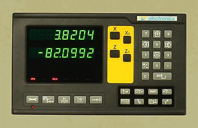 2 Axis El400 Magnetic Digital Readout Lathe 8x40 Dro Kit W 6 Year Usa Warranty