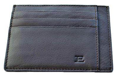 Portafoglio Porta Carte Di Credito Uomo Ermanno Scervino Marrone Wallet Man Brow