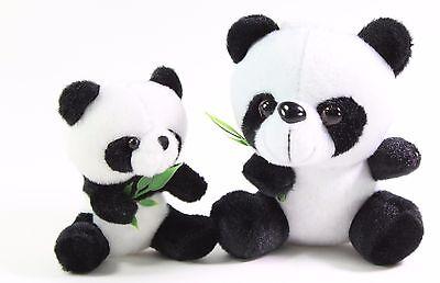 2 Panda Bear Cubs Stuffed Plush Wall Window Hanging Toy Birthday Gift US Seller - Bear Birthday