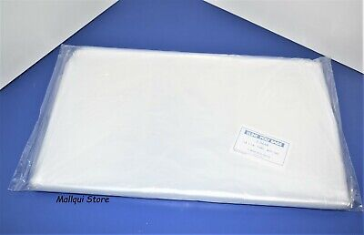 100 CLEAR 13 x 16 LAY FLAT OPEN TOP POLY BAGS PLASTIC PACKING ULINE BEST 1 MIL