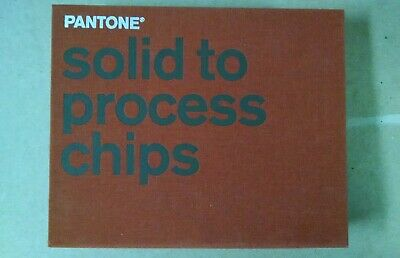 Pantone Solid To Process Chips Color Simulator Binder