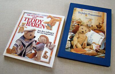 2 Bücher Ratgeber - Die Geschichte der Teddy Bären - Steiff Teddys Traumwelt (Die Geschichte Der Teddy Bären)