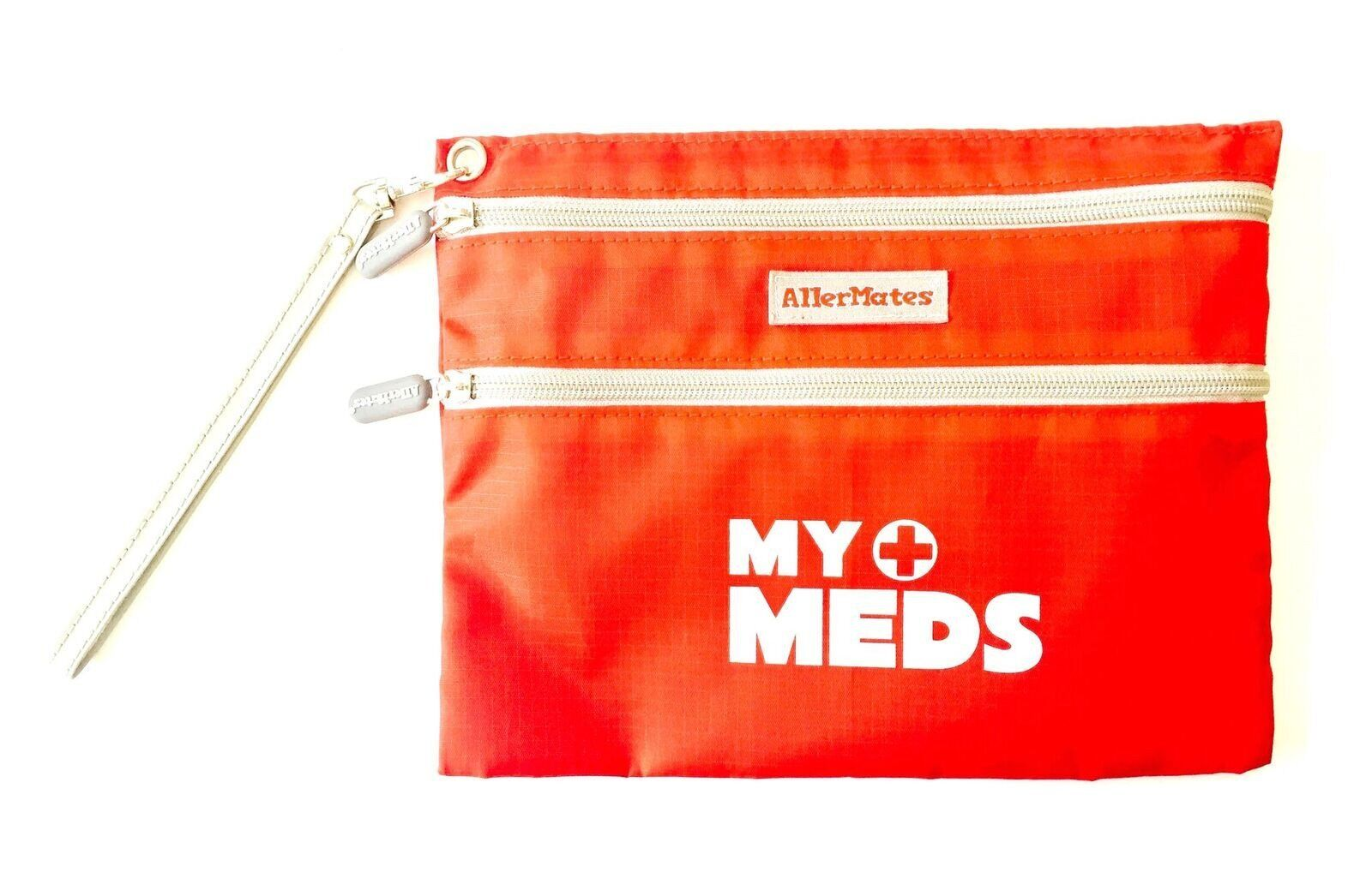 AllerMates My Meds Medicine Epipen Asthma Inhaler Carry Case