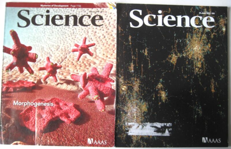 SCIENCE MAGAZINE AAAS lot 38 ISSUES 2013 March 1 thru Dec 20