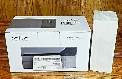 Rollo Label Printer Commercial Grade Direct Thermal And 500 Labels Nib Fast Ship