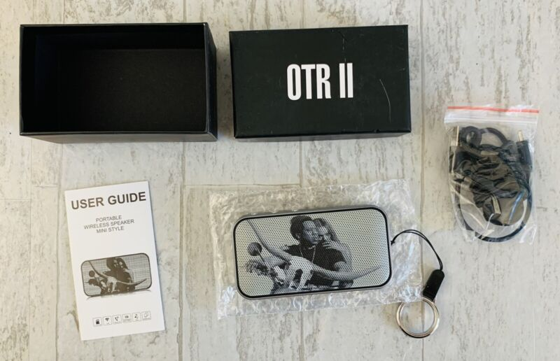 Official OTR II Portable Wireless Speaker- Beyonce & Jay-Z NEW