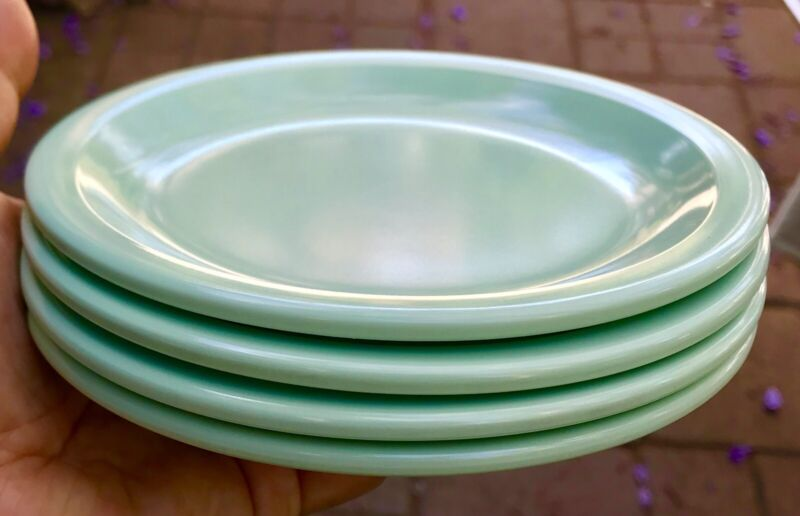 8 sets Texas Ware Melmac Melamine Plastic Plates Dessert Appetizer Mint Green