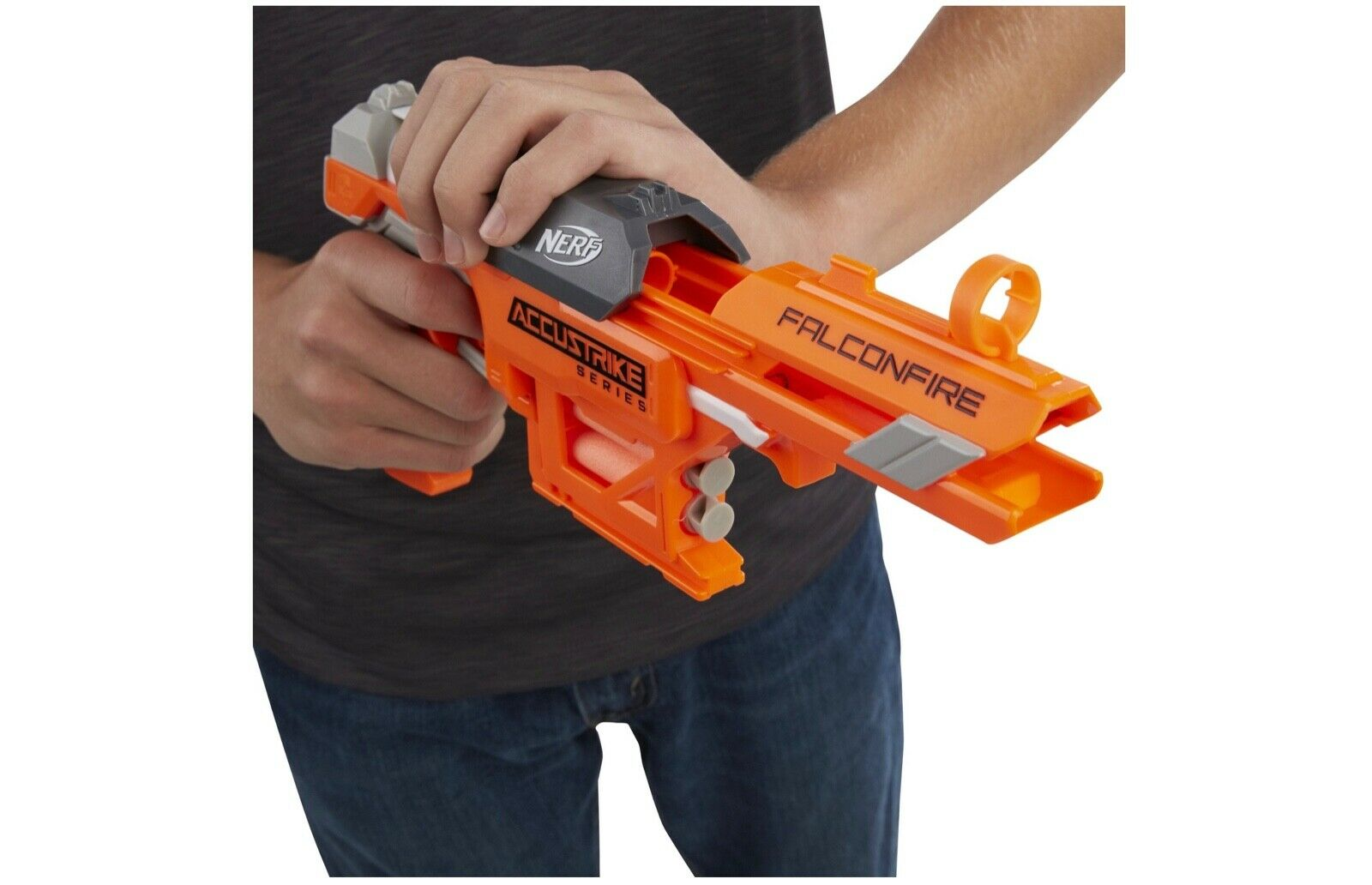 Nerf Gun N-Strike Elite AccuStrike Series FalconFire