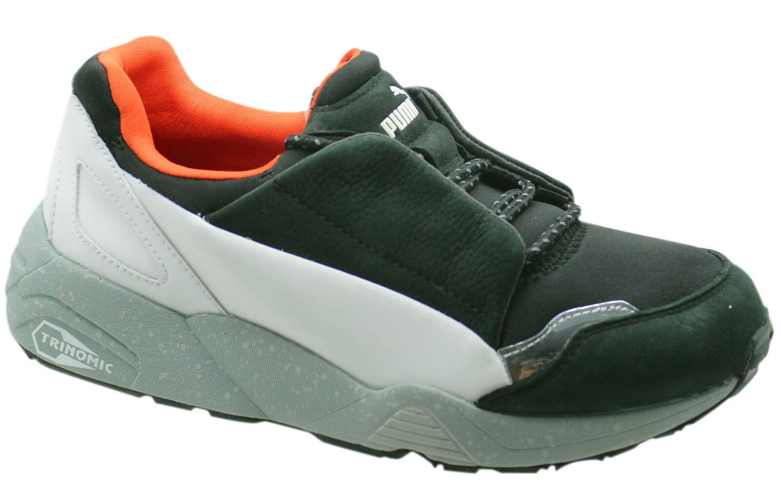 Puma Trinomic AMQ MCQ Alexander McQueen Lace Black Mens Trainers ... 8c94980f4