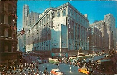 New York Herald Square circa 1957 Broadway and 34th (34th And Herald Square)