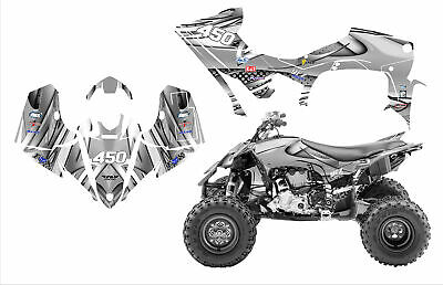 2014 - 2019 YFZ450R 450SE graphics wrap kit Free Custom Service #1216 Metal