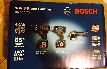 BOSCH PROFESSIONAL 18v 3 PIECE COMBO BRAND NEW IN THE BOX  Roxburgh Park Hume Area Preview